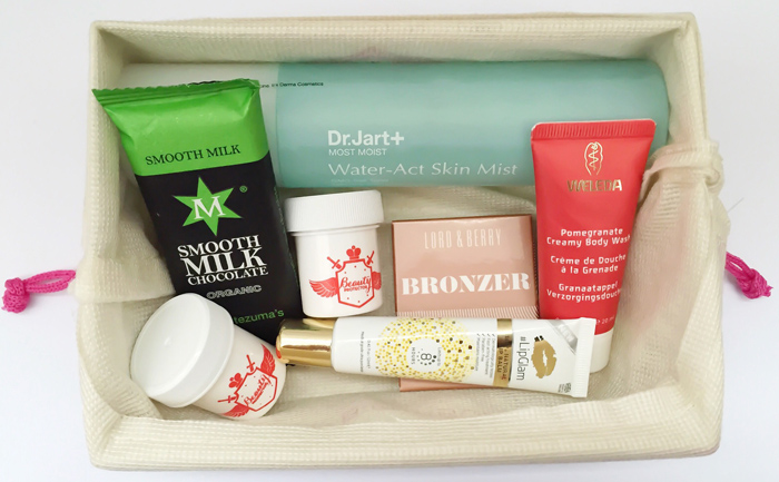 November Cosy At Home Birchbox - inside